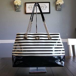 Kate Spade Black & Cream Shoulder Bag